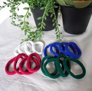 BUNDLE - 16 pieces Multicolour Hair Ties